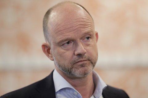 NHO-sjef Ole Erik Almlid er glad for at samfunnet nå gjenåpnes.