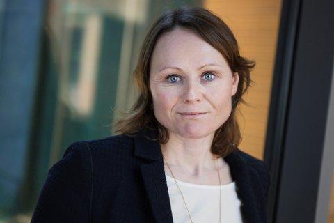 Nelly Maske, konserndirektør for Privatmarked i SpareBank 1 SMN.
