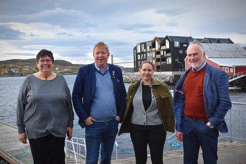 Rita Ottervik, Amund Hellesø, Kristin Furunes Strømskag, Ole Haugen