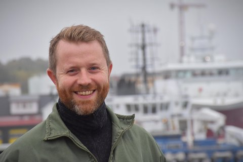 NY JOBB: Christian Bruseth kapret jobben som miljørådgiver når Åkerblå bygger opp ei ny avdeling i Rørvik.