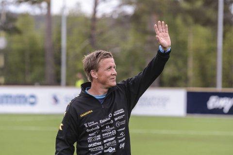 Fornøyd: Espen Haug er fornøyd med å ha fått på plass treningskamper mot blant annet Sogndal og HamKam.