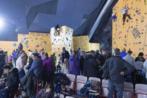 Lille-Opplands arrangement i Fjellhallen samlet nærmere 2000 deltagere lørdag. Foto: Henning Gulbrandsen