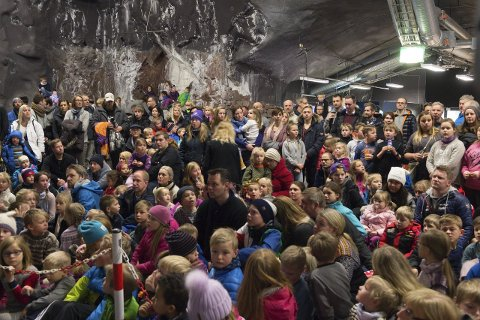 POPULÆRT: Arrangementet i Fjellhallen samlet over 2000 i 2016.