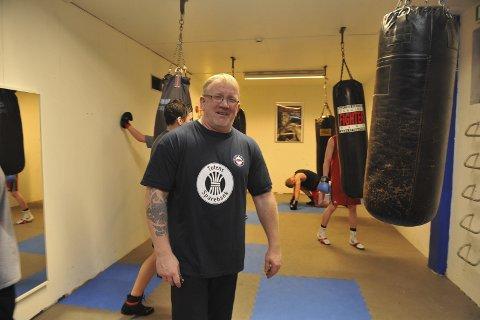 Ikke sammenliknbart: Erik Dahlen i Raufoss bokseklubb mener proff- og amatørboksing i utgangspunktet ikke er sammenliknbart. Det tror han også folk flest forstår. Arkivbilde