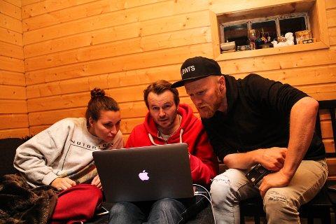 JULSANGJAKT: Nora Jabri, Knut Anders Sørum og Lewi Bergrud har nesten alt i boks foran juleturneen som starter 27. november.