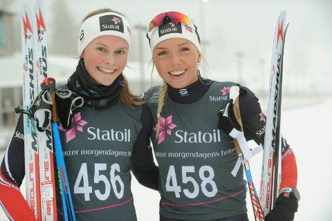SUPERDUO: Marte Mæhlum Johansen (t.h) vant VM-mønstringen og Mathilde Myhrvold ble nummer tre.