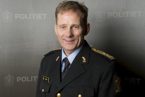 DEN NYE SJEFEN: Johan Brekke er politimester i Innlandet politidistrikt etter sammenslåingen av Vestoppland, Gudbrandsdal og Hedmark distrikter. Foto: Scanpix