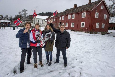 Festival: Fv. Ola Narten Svendsen, Siri Syverud, Siv Skjelstad og Jan Mathisen. Foto: Brynjar Eidstuen