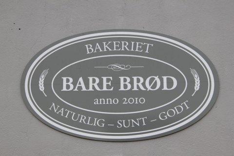 KANDIDAT: Brødbakeren i Gjøvik var i hvert fall ikke  redd for å ta i bruk det norske språket når de valgte  firmanavn.