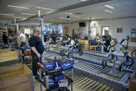 RULLATOR-KRIG: Topro Industri AS er i dag en ren kommersiell virksomhet med 270 ansatte. Nå slåss selskapet med kinserne om en storkontrakt i Norge,