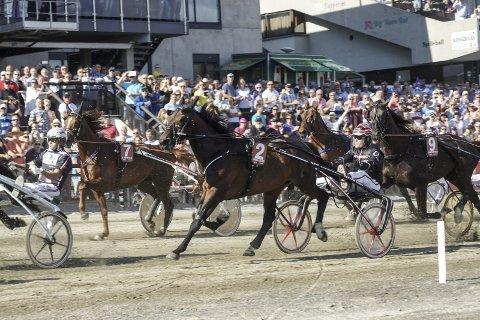 SKADET: Support Justice travet et godt løp i Oslo Grand Prix, men må nå ta en løpspause.