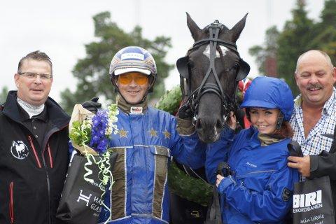Ingbest imponerte i finalen i Veikle Balder Cup sammen med Tom Erik Solberg.