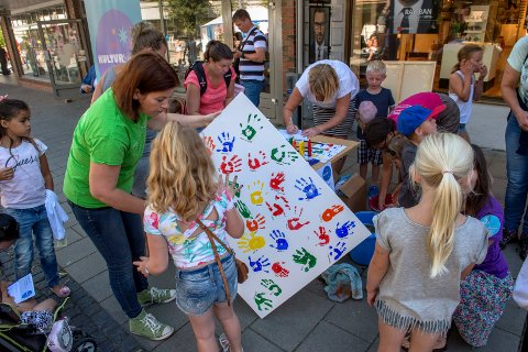 Det blir liv i sentrum når Barnas Dag arrangeres lørdag 13. august.
