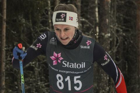 Mathilde Myhrvold skulle egentlig ikke gå sprinten i Park City. I stedet ble det en imponerende femteplass i finalen.