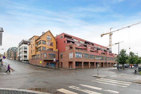 Hjørneleiligheten i Gjensidige-gården ble solgt etter en veritabel budkrig.