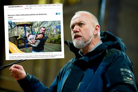 Morten Ørsal Johansen (Frp) rettet i september kraftig kritikk mot det norske barnevernet i et debattinnlegg. Nå har den engelske oversettelsen (innfelt) blitt publisert i en indisk avis. Arkivfoto: NTB scanpix