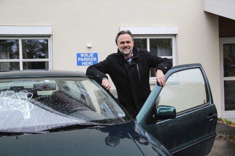 Budsjettbil: I Ørnulf Juvkam Dyves bilpark, er det uten tvil Polo'n som har vært best butikk.  foto: frode hermanrud
