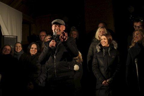 HANS ESBEN GIHLE: Totningen synger i Oslo Gospelchoirr. Han rakk nesten ikke konserten da kolliderte og bilen ble totalvrak på vei til konserten