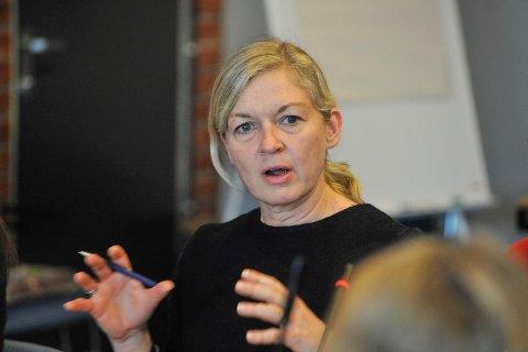 KUTT PÅ KUTT: Økonomidirektør i Sykehuset Innlandet, Nina C. Lier, sier sykehusene må effektivisere med 75 millioner neste år, og deretter omtrent 60 millioner årlig.