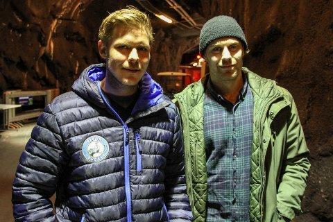 Jan Robin Lereng og Simen Hoel Johannessen blir nøkkelspillere for Gjøvik Hockey i kvalifiseringskampene mot Storhamar YA og Moss.