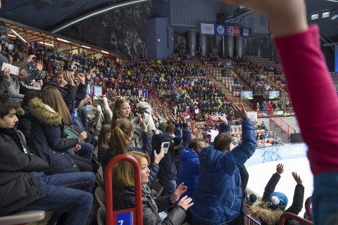 UNIK: Fjellhallen får mye av æren for at Gjøvik er kåret til Europas 15. beste hockeyby av det kanadiske reiseportalen Flight Network.Illustrasjonsbilde