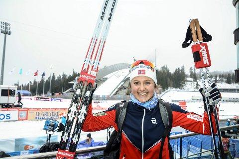 SNART PAUSE: Ingvild Flugstad Østberg går sitt siste verdenscuprenn for denne sesongen i dag.
