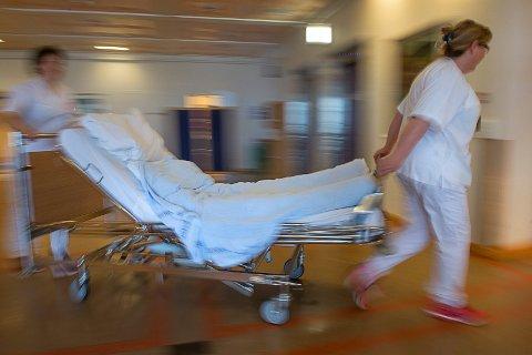 Sengeplasser, illustrasjon sykehuset