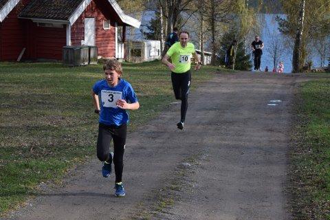 Det første løpet i Land Løpskarusell arrangeres fra Lyngstrand onsdag 3. mai. Arkivbilde