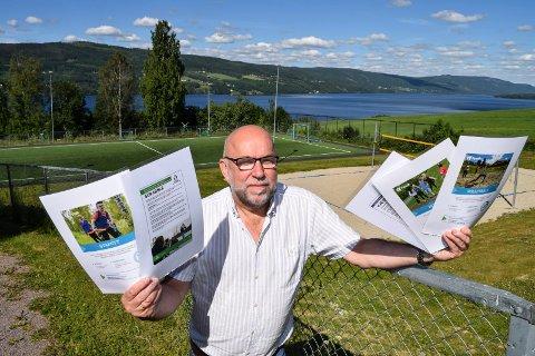 Etter 15 år som Fysak-skole skal Søndre Land ungdomsskole nå bygge opp en nasjonal database for fysisk aktivitet i grunnskolen. Rektor Knut Solhaug har samtidig planene klare for en årlig, nasjonal Fysak-konferanse i Søndre Land.
