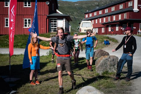 I MÅL: Orset kom i mål under Vinjerock sist helg.