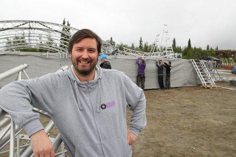 Festivalsjef Atle Dahlen har solgt sine aksjer i Trollrock AS og trekker seg ut av festivalen med umiddelbar virkning. Foto: Arkivblde