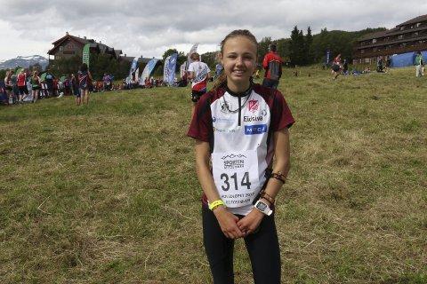Best av 15-åringene: Kristine Kravdal fra Gjø-Vard OL vant lørdagens Hovedløp i orientering på Beitostølen.
