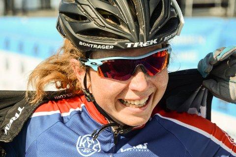 Elisabeth Sveum vant norgescupen i sykkelcross sammenlagt.