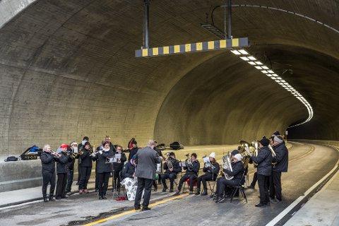 Supertunnel: Den nye Filefjelltunnelen er av de mest moderne som finnes.