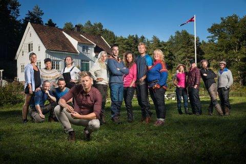 14 deltakere i alderen 21 til 55 deltar i Farmen 2017 på TV 2.