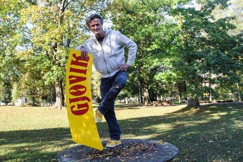 PATRIOT: Buddy-pris-vinner Audun Kleive har i løpet av noen få år i byen rukket å bli en real Gjøvik-patriot.