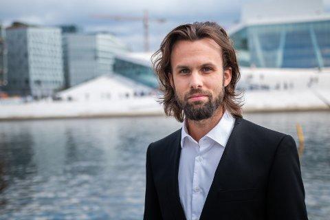 Thomas Iversen i forbrukerdialog i Forbrukerrådet. Foto: Halvor Pritzlaff Njerve / Forbrukerrådet