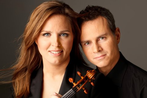KLASSIKERE: Birgitte Stærnes og Helge Kjekshus krysser komponister i onsdagens konsert på Resonans.