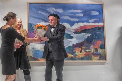 LOKALE UTSTILLERE: Torhild Glimsdal og Dag Gimle er begge anerkjente kunstnere med sterk Valdres-tilknytning. Foto: Jan Erik Olsrud