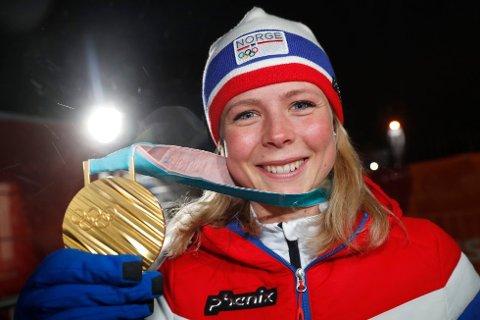Maren Lundby sikter mot flere titler denne sesongen.