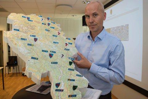 GJERNE FLERE: Fylkesmann i Oppland, Sigurd Tremoen, ser gjerne at flere kommuner blir del av det nye Innlandet fylke.