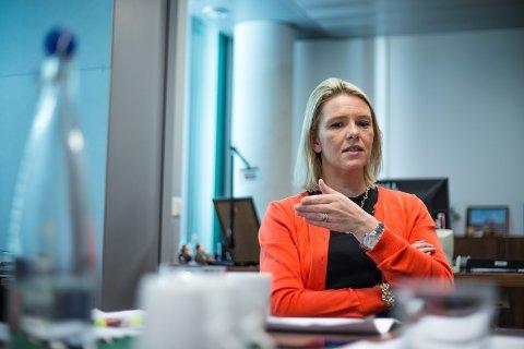 SYKEHUSØKONOMI: Sylvi Listhaug (Frp) er bekymret over at ditt lokalsykehus i Innlandet vil måtte betale for at sykehuset i Oslo ikke klarer å betjene sine egne lån.