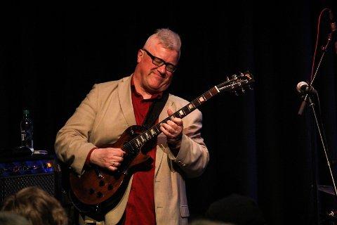KJENTFOLK: Staffan William-Olsson har besøkt jazzklubben flere ganger. I november kommer han tilbake, da med gjengen i Transantlantic Express.