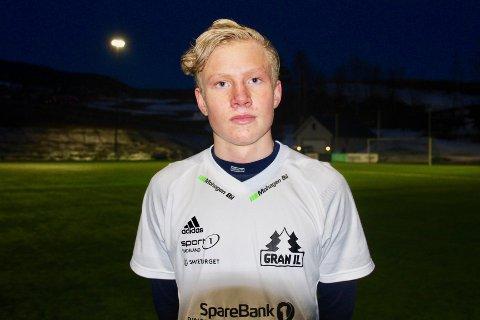 SCORET: Hans Martin Werner trodde han ble matchvinner i debuten, men på overtid utlignet Redalen.
