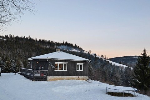 EN HALV MILLION: Du kan skaffe deg et hus til litt over en halv million i Nordre Land.