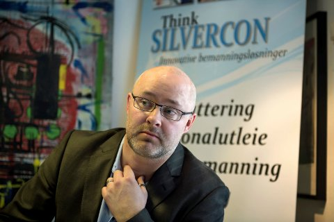 NYTT KONTOR: daglig leder Christian Skou i Silvercon er glad for å åpne nytt kontor i Stavanger.Arkivbilde