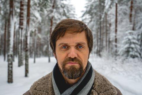 SKOGENS MANN: Erik Lukashaugen har satt nye toner til gamle Hans Børli-dikt.