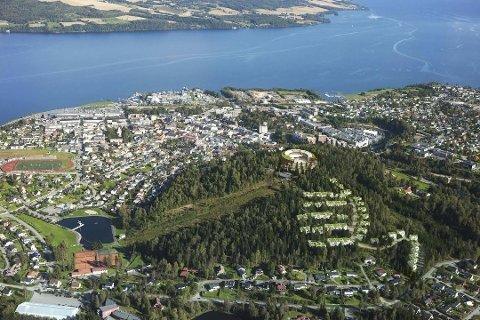 INNTEKT: - Hvorfor skal Hovdetoppen utvikling AS i prinsippet få gratis tomt av Gjøvik kommune når hvem som helst annen utbygger hadde betalt titalls millioner, og kanskje mer, for å få bygge ut dette området midt i sentrum? spør Klaus Bratlie.