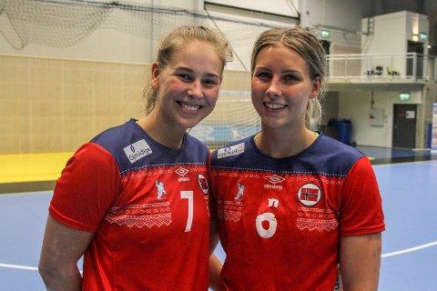 VM-klare: Søskenbarna Guro Nestaker og Synne Fossheim er klare for junior-VM.