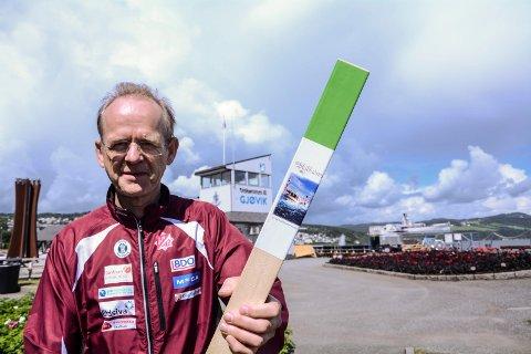 Arnfinn Pedersen kan ønske velkommen til stolpejakt i Gjøvik allerede fra lørdag 4. april.